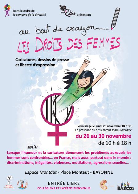 affiche : Les droits des Femmes